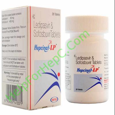 Hepcinat LP ledipasvir sofosbuvir helpforhepc.com