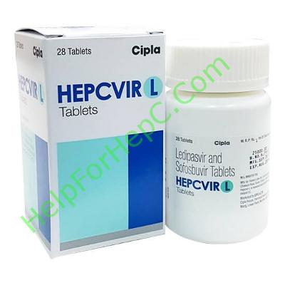 Hepcvir L ledipasvir sofosbuvir helpforhepc.com